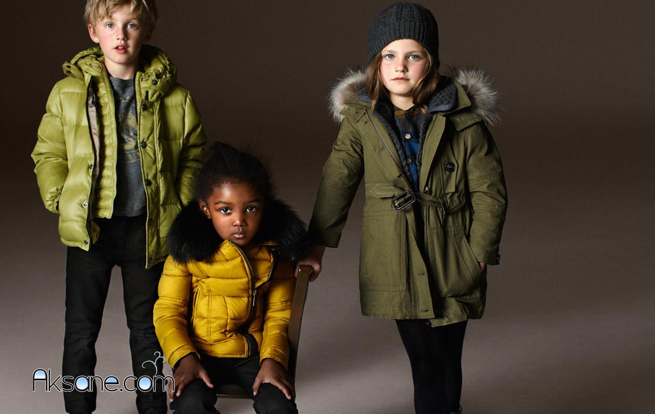 Модные дети зима фото